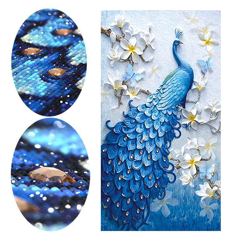 Meian Bor Persegi Lukisan Berlian Cross Stitch Mosaik Kit 5D DIY Diamond Lukisan