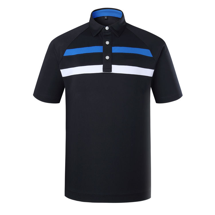 2020 Newest Golf Clothing Short Sleeve Golf Shirt High Quality Pique Polo Shirts For Men