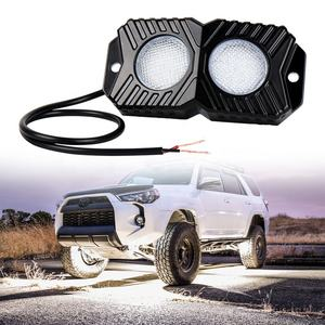 OVOVS Neue LED 12V Rock LED Licht Multi-Farbe Optional für 4x4 Lkw Autos ATV 18W LED Rock Licht