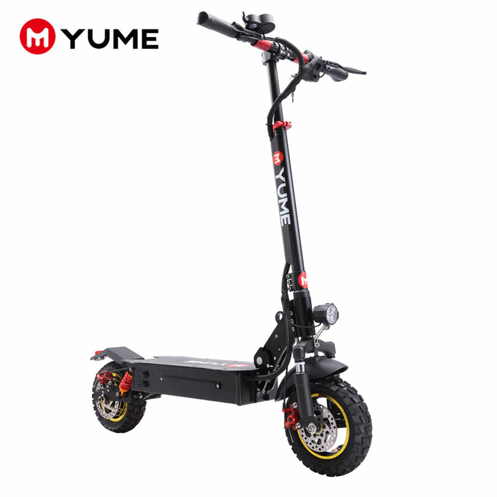 YUME 2020 new arrival e scooter foldable powerful 800w or 1000w single motor 2 wheel adult electric scooter