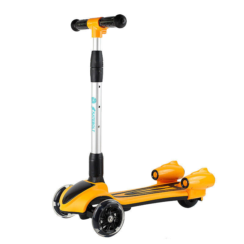 Fashion wholesale price High quality Light Up 3 safe Flashing Wheels Folding kid Scooter for kids from manufacturer