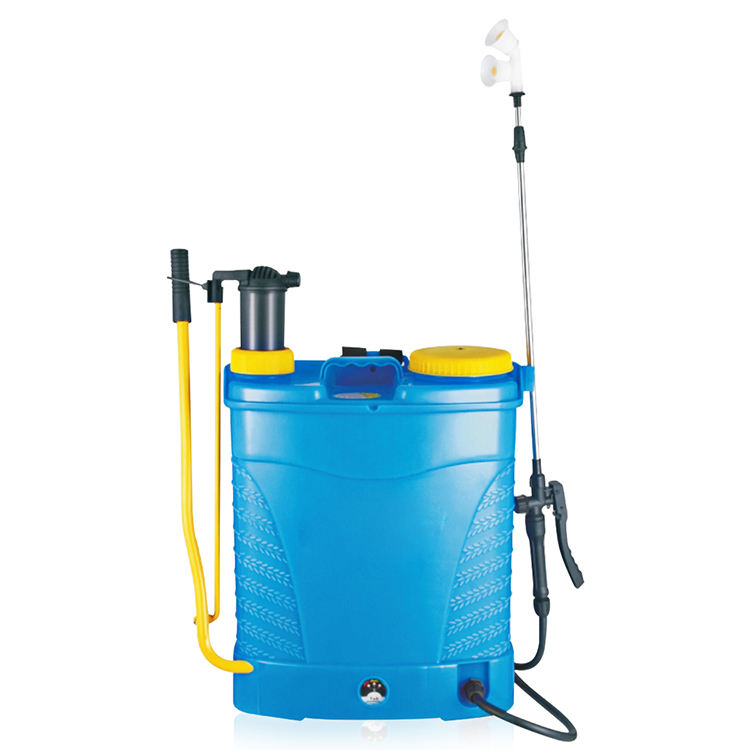Hand operated and electric 2in1 backpack knapsack sprayer