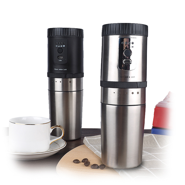 Most popular electric round coffee grinder kit, Amazon hot selling electric round coffee mills