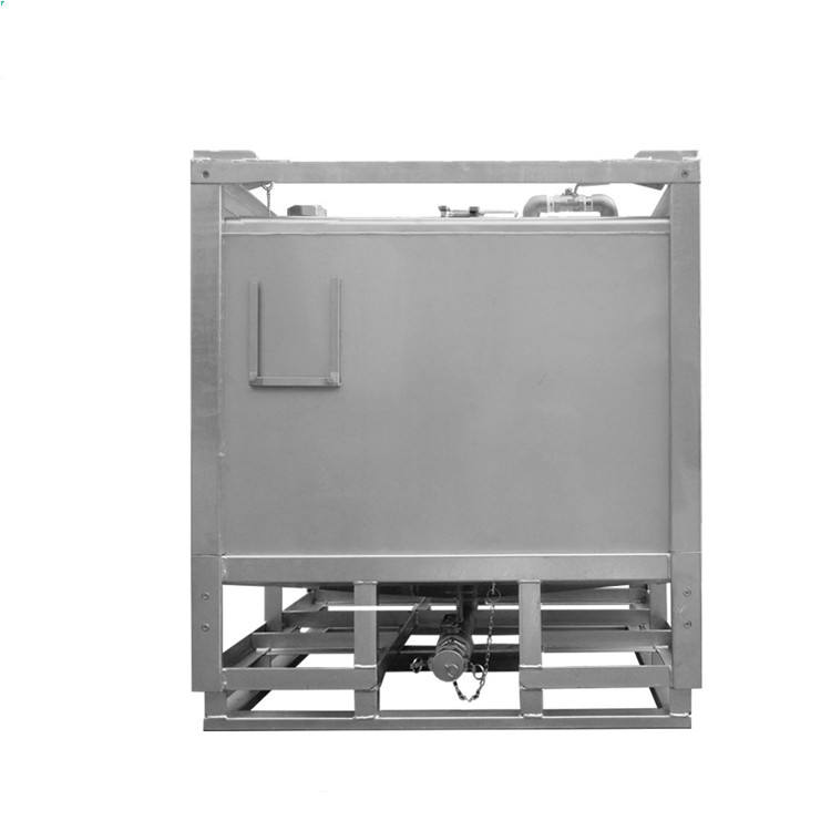 Chemical Storage Equipment 1000L Stainless Steel IBC Tote Tank