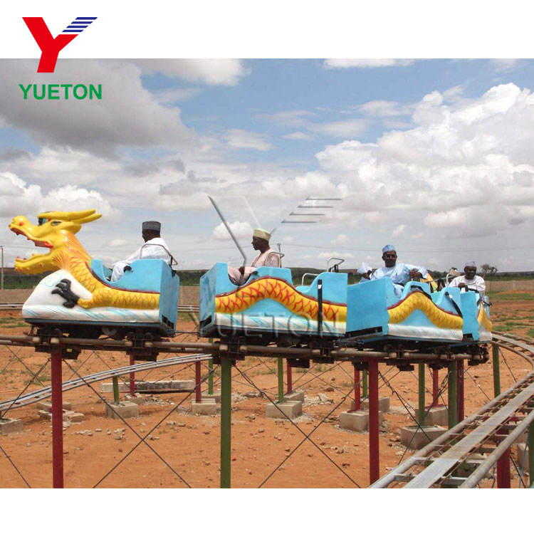 Buy A Backyard Fun Fair Indoor Amusement Park Rides Equipment Kid Train Small Sliding Dragon Coaster Mini Roller Coster For Sale