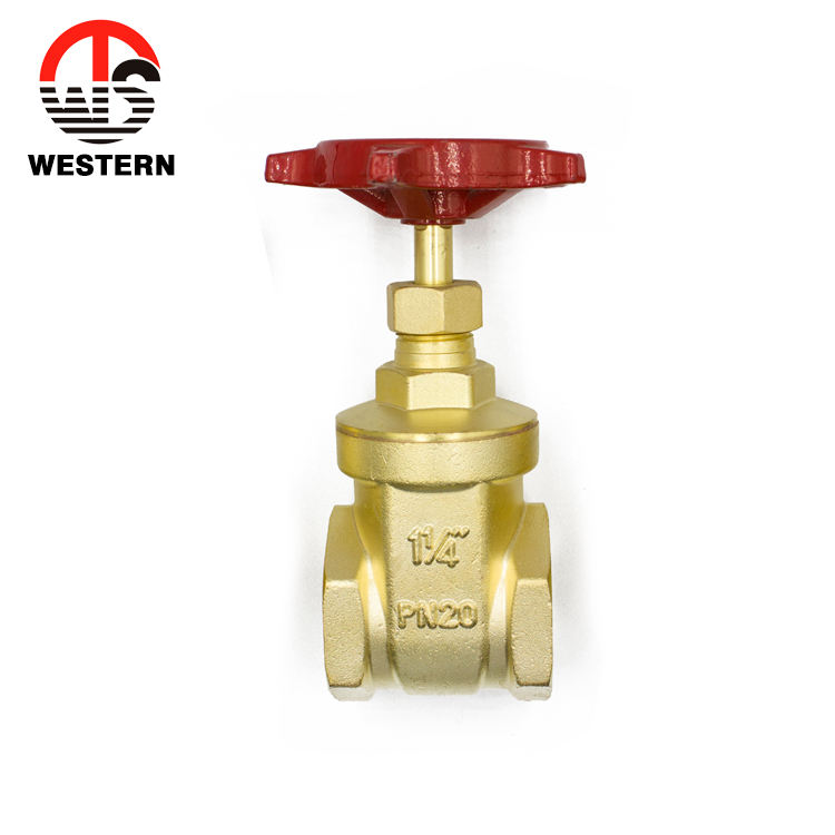 200WOG Bronze casting Body Type Brass Gate valve