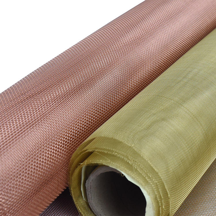 ultra fine emf faraday cage shielding expanded twill copper mesh for industrial use