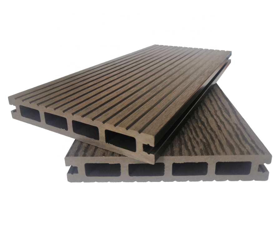 Square Hollow Outdoor Wpc Flooring Board For Garden Path Decking