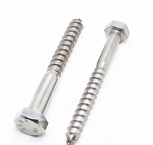 DIN571 Hex Head Lag Screw with Zinc Plated