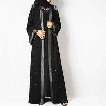 Design Women New Model Dubai Abaya Kimono Malaysia Kaftan Collection for Muslims