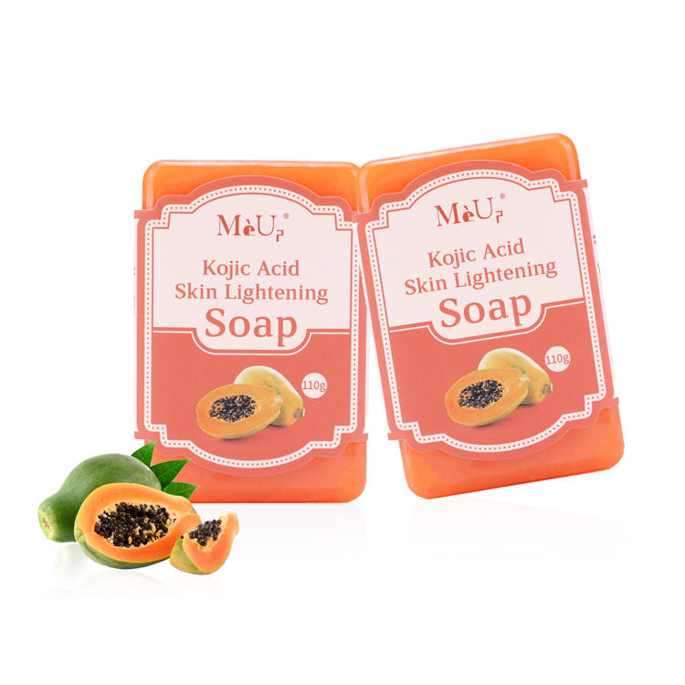 Wholesale natural handmade whitening clean 110g 140g kojie san kojic acid soap body face bath