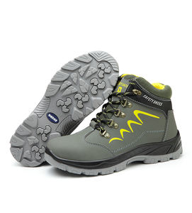 waterproof microfiber anti-slip anti-puncture construction work shoes hiking men safety shoes