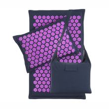 Harbour Acupressure Mat and Pillow Set Lotus Spikes Massage Health Linen Coconuts Acupressure Foot Mat