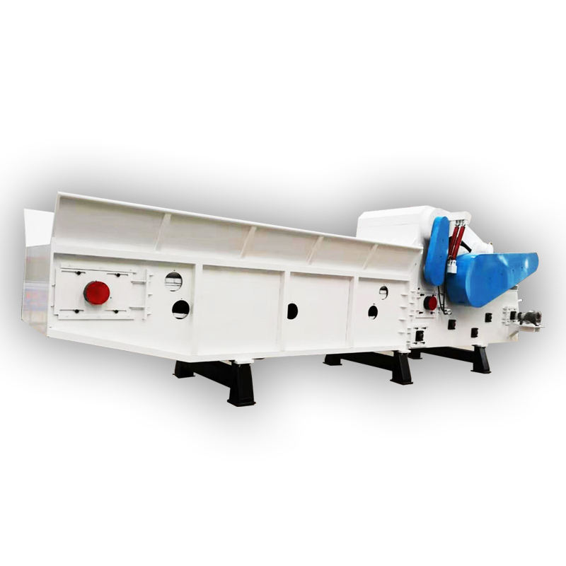 Professional waste wood crusher machine with nails remover
