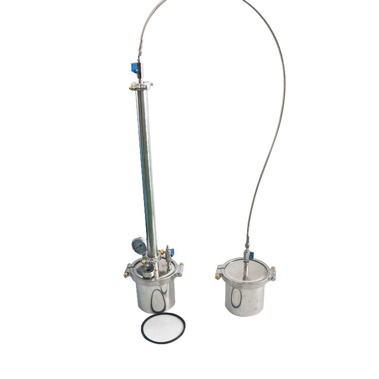 SUNTHAI 220gram Closed Loop Extractor With Triclamp Spool Ready to Ship