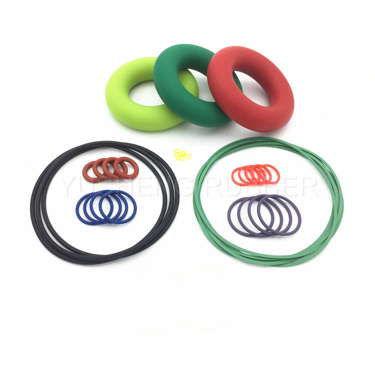 YSRUBBER Christmas gifts safe beautiful silicone rubber o ring color