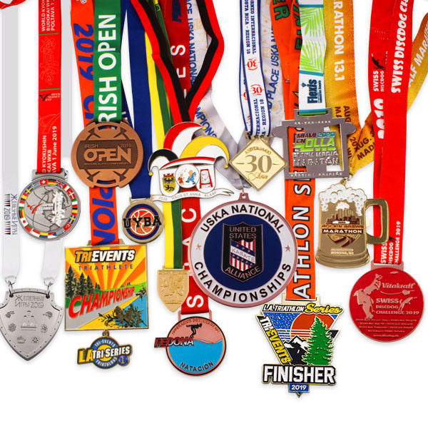 Custom cheap price races award gift souvenir for match metal medal