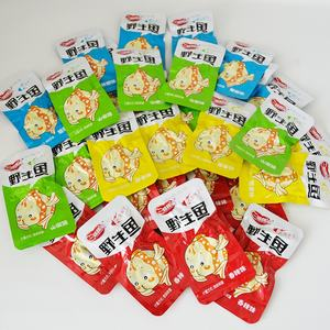 Exports flavor spicy fish seafood supply oishi snacks