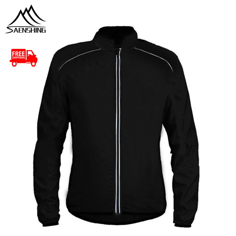 BRIGHT Cycling Jackets Men Riding Waterproof Windproof Reflective Jacket Cycle Bike Clothing Free Shipping