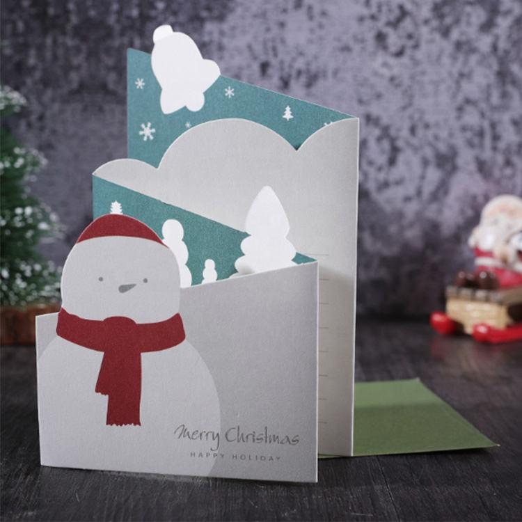 Kanlong Design de <span class=keywords><strong>Moda</strong></span> Por Atacado Impressão Personalizada Descartável Natal Decoração <span class=keywords><strong>Cartão</strong></span>