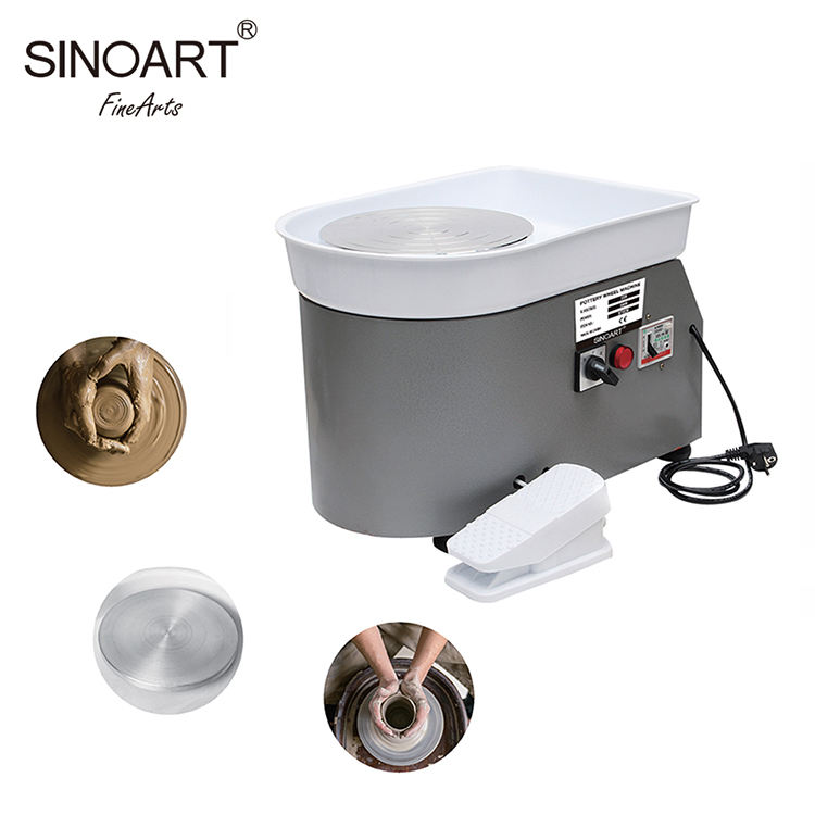350w High-power Ceramic Throwing Work Clay Is Processed Electric Pottery Wheel Machine