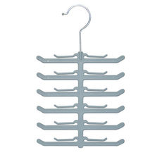 Non-Slip Magic Hanger Fish Skeleton Tie And Scarf Rack