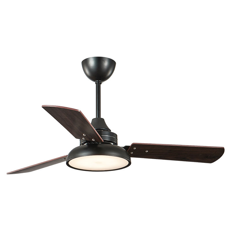 Cheap price pure copper motor energy saving LED light ceiling fan with lamp
