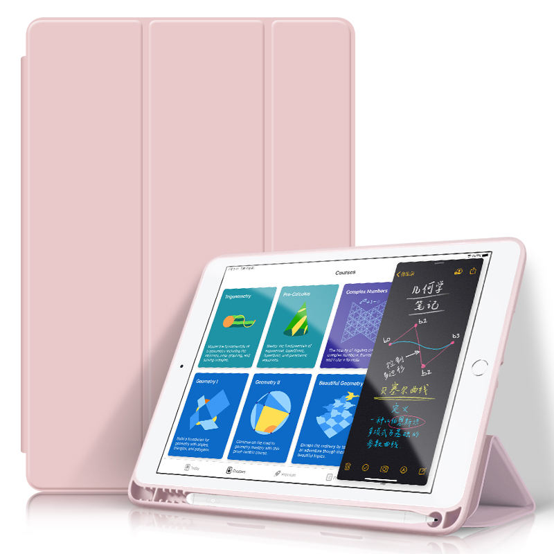 Pu Leder stoß feste Hülle Smart Cover <span class=keywords><strong>für</strong></span> Apple <span class=keywords><strong>Ipad</strong></span> 10.2 <span class=keywords><strong>Fall</strong></span> 7. Generation