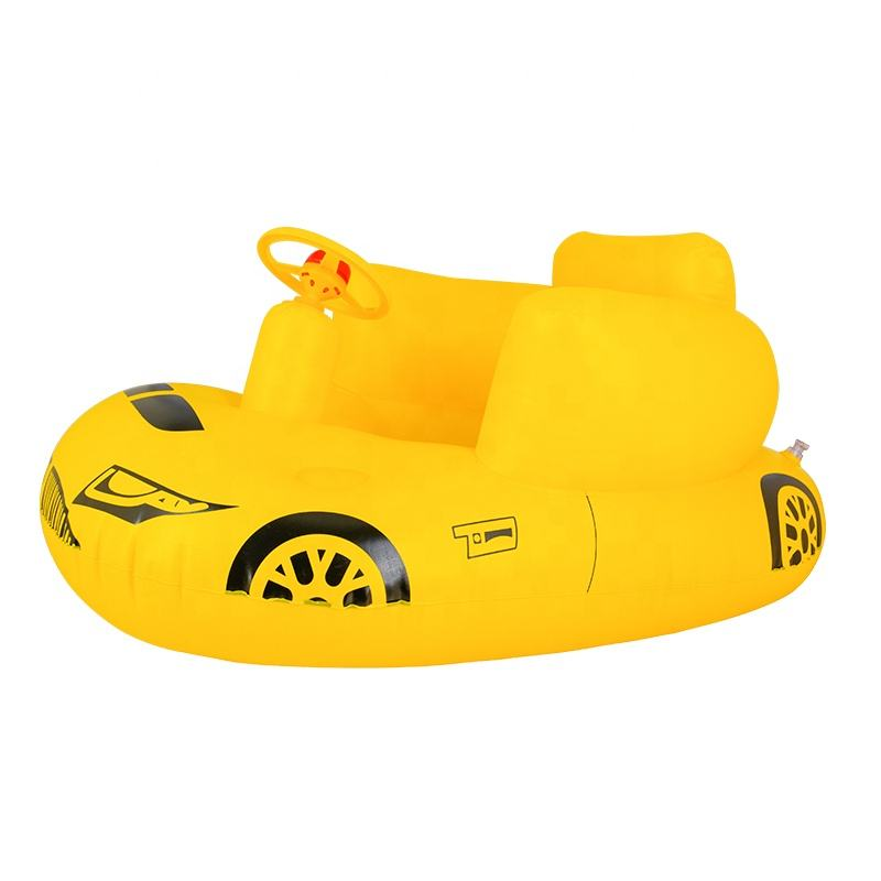 Hot popular inflatable seat cushion pvc swim float car child inflatable boat seat sofa chair baby inflatable seat