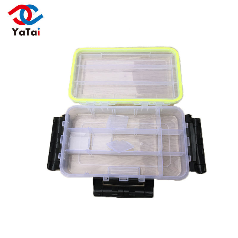 Professional waterproof fishing tackle box Of Low Price Hard Plastic Storage Case Box Plastic Fishing Lure Hook Bait Fishing