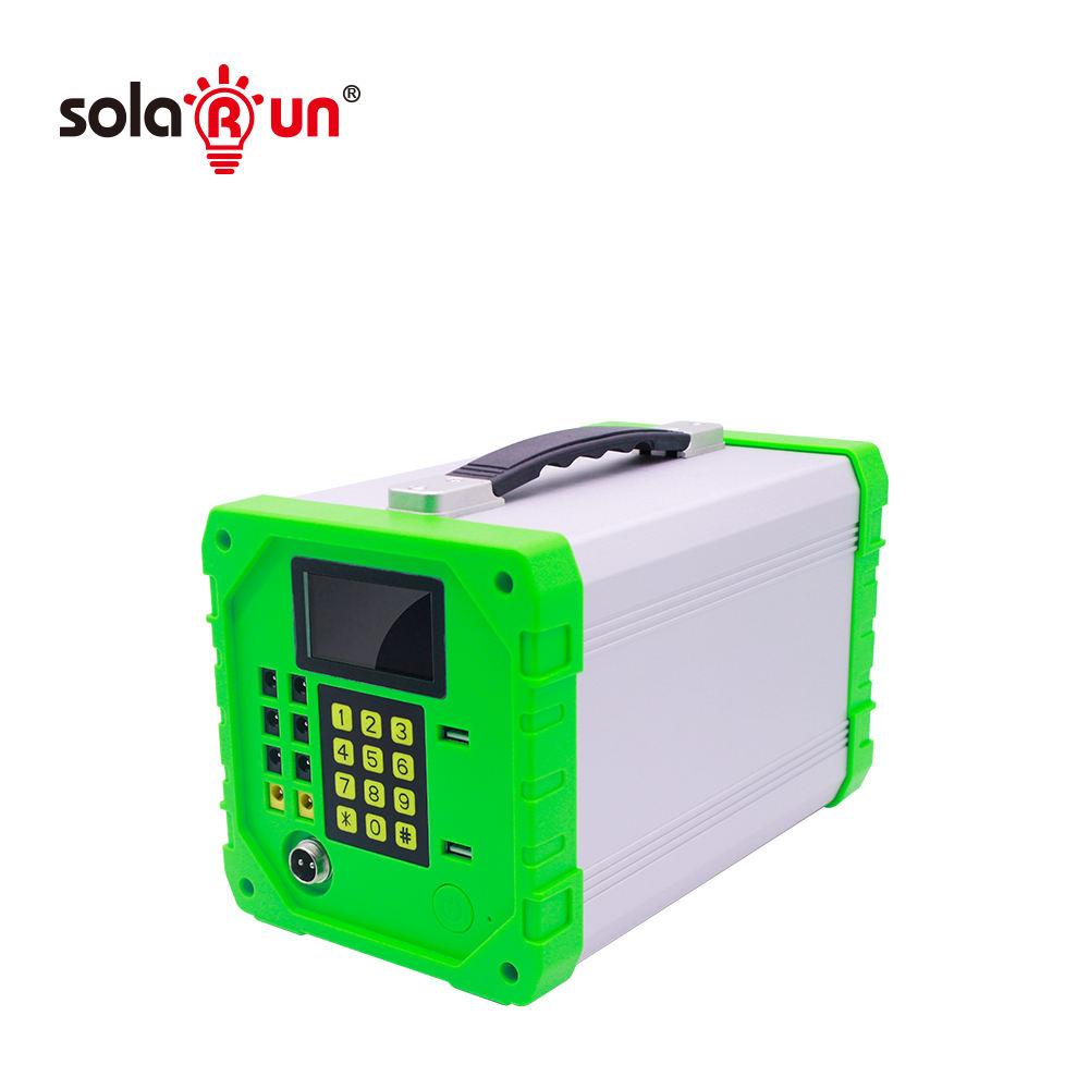 Hors Réseau Système Solaire PAYG Famille <span class=keywords><strong>polyvalent</strong></span> système d'énergie Solaire maison kit solaire portable tv et ventilateur