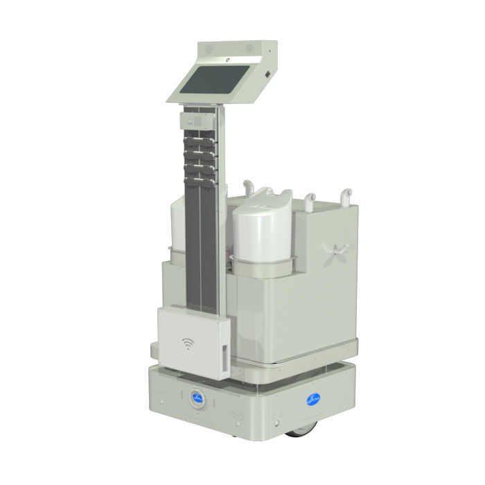 Multifunctional Autonomous UVC Robot Sterilizer Fog Machine for Office