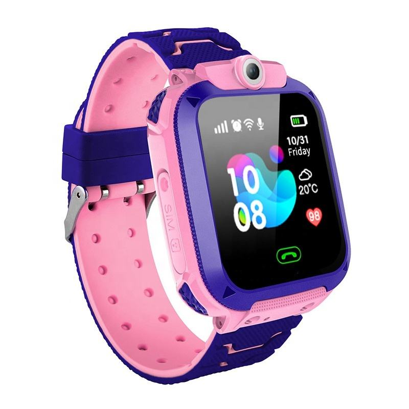 Q12 waterproof kids smart watch phone GPS Android smart watch with sim card slot