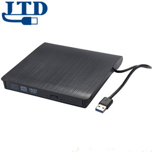 Externe Cd Drive Type C Usb 3.0 Draagbare Cd Dvd +/-Rw Drive Slim Dvd/Cd Rom rewriter Brander Schrijver Compatibel Met Laptop