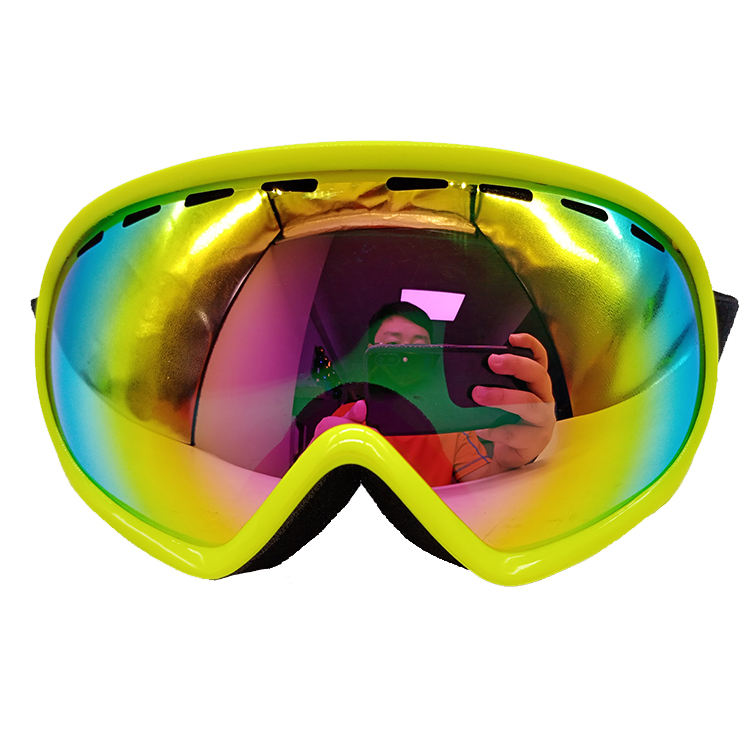 Wholesale custom fashion anti fig children ski goggles