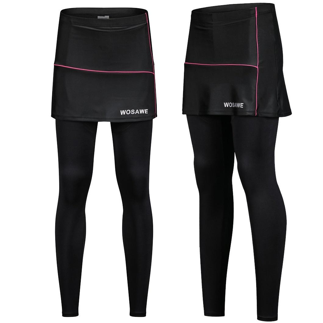Cycling pants women's anti-wear trousers anti-UV cycling shorts 3D bike riding skirt with pads