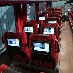 "Cheap price 10.1"" Bus video on demand (VOD) system"
