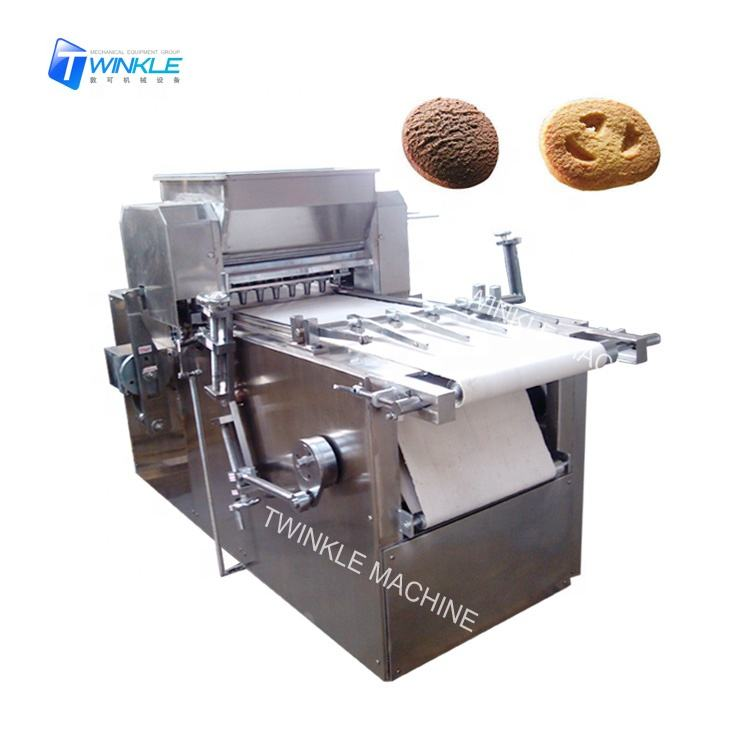 Bakery wirecut dropping round biscuit cookies machine
