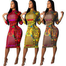Chinese New Arrival Summer Women clothes new dress plaid  designs with waistband half sleeve ladies dress
