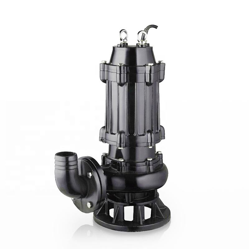 Electric submersible centrifugal self priming trash water pump