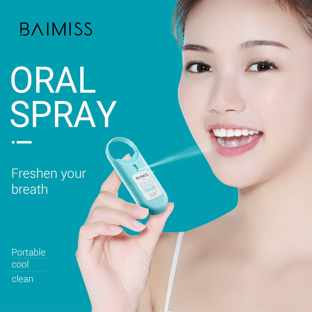 Oral Care 10ml Portable Refreshing Mint Perfume Mouth Breath Freshener Spray For Bad Breath