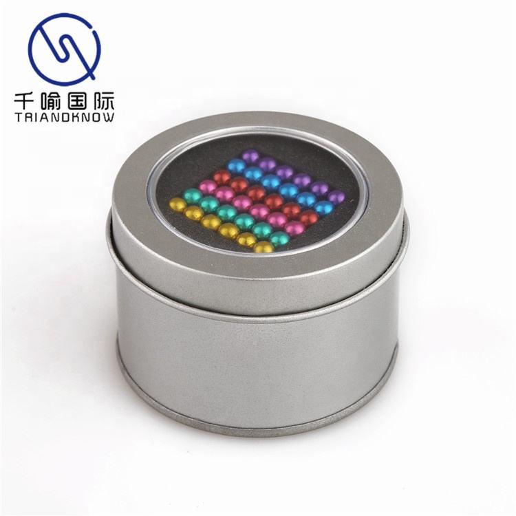 Prix usine Sphère Buck Boules 3mm Magique Puzzle Magnétique Balle Jouet Intellectuel