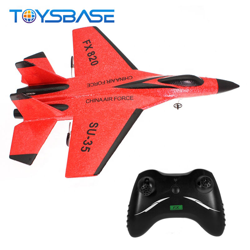 SU35 Radio Control Glider Fighter Toy 2.4G Long Range RC Plane