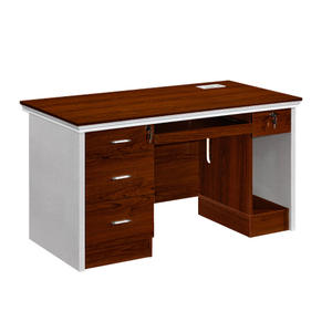 Wooden computer desk with bookshelf /cabinet/ drawer