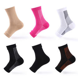 Comfortable sports elastic ankle support brace for plantar facilities compression sleeve