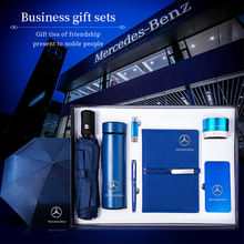 2020 New Model Business Luxury Corporate Gift Set Notebook power bank speaker metal pen Gift seven Set
