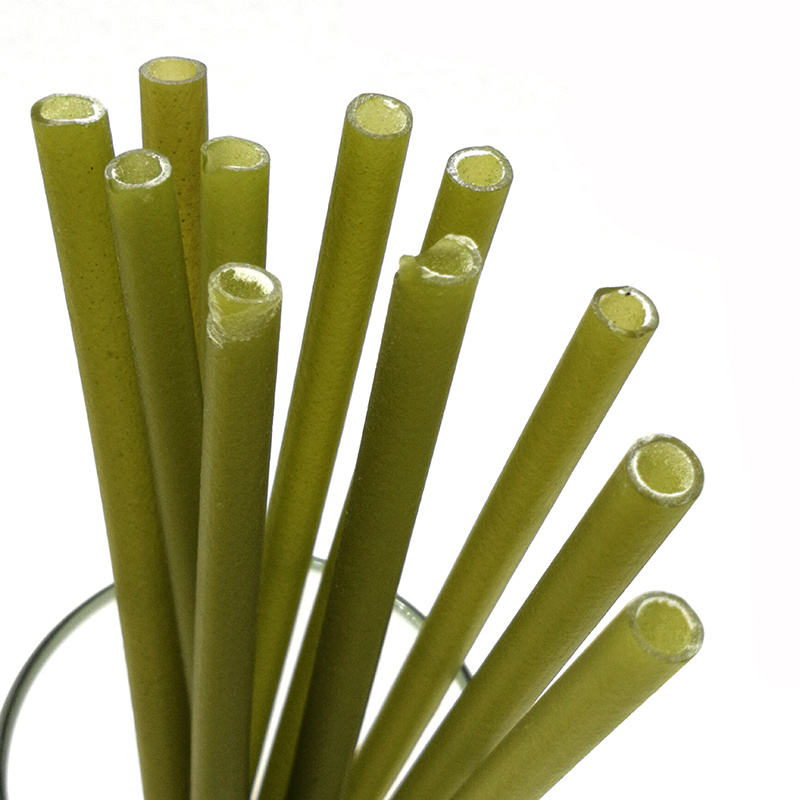 Hot Selling 2019 Amazon Drinking Straws, Organic Natural Straws Eco- Friendly Disposable Rice