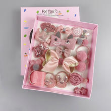 18Pcs/Set Wholesale The Little Girl Hairpin Handmade Hair Accessories Girl Birthday Gift Set