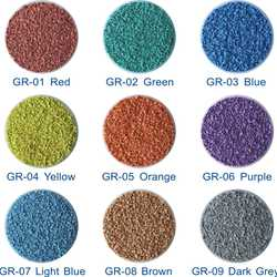 Eco-friendly & non-toxic synthetic EPDM  Rubber Granules for sports courts/playground