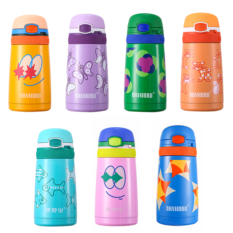 China Professional Manufacture Eco-friendly Vacuum Insulated Stainless Steel Kids Sports Water Bottle